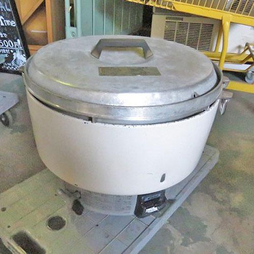 【中古】《大幅値下》ガス炊飯器 リンナイ RR-50S1 幅525×奥行481×高さ434 都市ガス 【送料無料】【業務用】