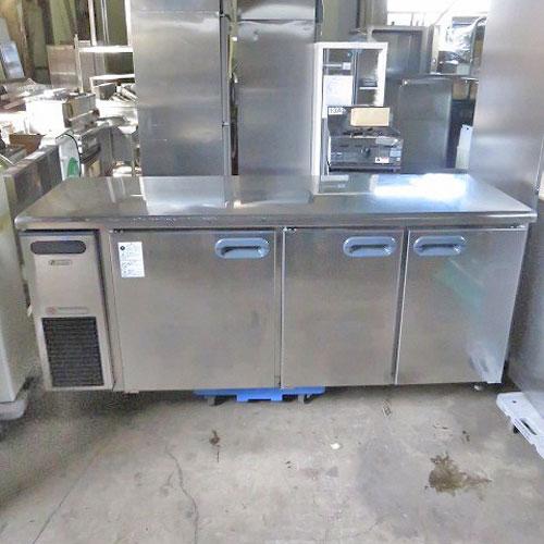 【中古】冷蔵コールドテーブル 福島工業(フクシマ) RXC-60RETA7 幅1800×奥行600×高さ800 【送料無料】【業務用】【厨房機器】