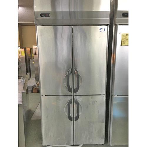 【中古】縦型冷蔵庫 三洋電機 SRR-F981SA 幅900×奥行800×高さ1975 【送料無料】【業務用】