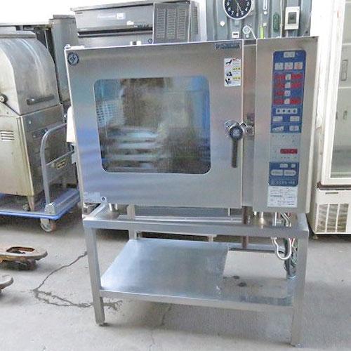 【中古】スチームコンべクションオーブン ニチワ電機 SCOS-10RS 幅1035×奥行655×高さ1395 【送料別途見積】【業務用】【厨房機器】