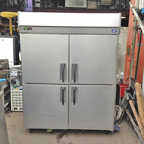 【中古】4ドア 冷蔵庫 サンヨー SRR-J1561VS 幅1460×奥行675×高さ1930 【送料別途見積】【業務用】【厨房機器】