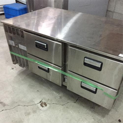 【中古】冷蔵ドロワーコールドテーブル フジマック FRDB44MRB 幅1200×奥行720×高さ620 【送料無料】【業務用】【厨房機器】
