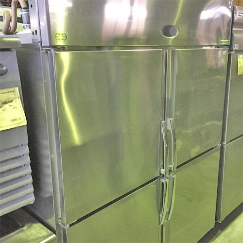 【中古】冷凍冷蔵庫【北海道限定商品】 フジマック FR-1580FJ3 幅1500×奥行800×高さ1950 【送料別途見積】【業務用】【厨房機器】