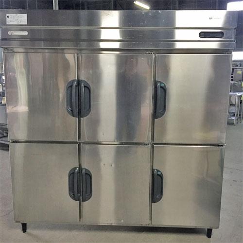【中古】縦型冷凍冷蔵庫 2凍4蔵 福島工業(フクシマ) EXD-62PMTA7 幅1800×奥行800×高さ1850 【送料別途見積】【業務用】