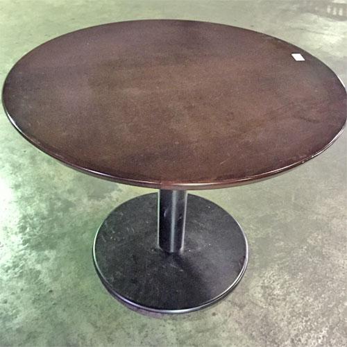 【中古】丸テーブル 幅900×奥行900×高さ700 【送料無料】【業務用】