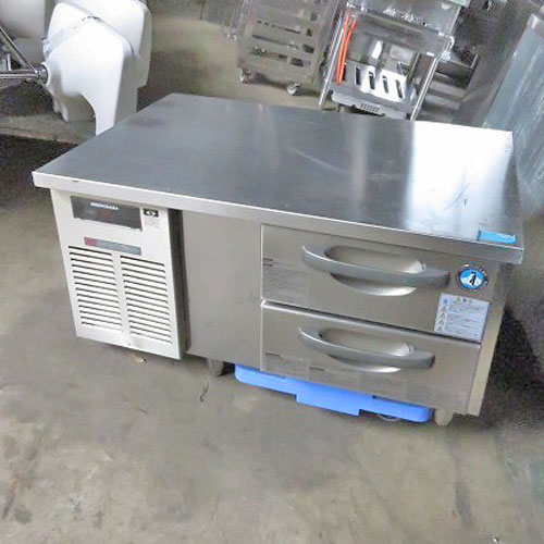 【中古】冷蔵ドロワーコールドテーブル ホシザキ RTL-90DNT 幅900×奥行600×高さ540 【送料別途見積】【業務用】