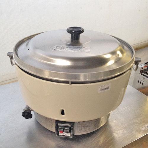 【中古】ガス炊飯器 リンナイ RR-40S1 幅525×奥行481×高さ408 LPG(プロパンガス)【送料別途見積】【業務用】