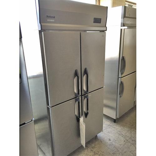 【中古】縦型冷蔵庫 ナショナル NS-KF341R2 幅900×奥行800×高さ1900 【送料別途見積】【業務用】【厨房機器】
