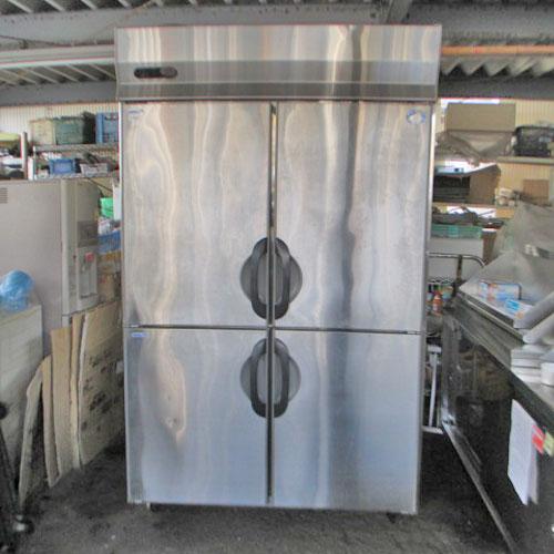 【中古】縦型冷凍冷蔵庫 三洋電機 SRR-F1281C2A 幅1200×奥行800×高さ1950 【送料別途見積】【業務用】