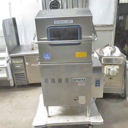 【中古】食器洗浄機 ドアタイプ 日本洗浄機 SD114EA6 幅800×奥行650×高さ1400 サニジェット【業務用】【送料別途見積】