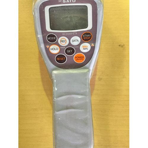 【中古】防水型デジタル温度計 佐藤計量器製作所 SWP2-01M 幅170×奥行71×高さ36 【送料無料】【業務用】