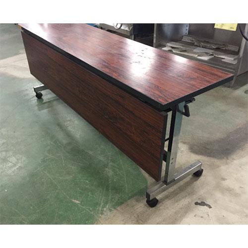 【中古】多目的テーブル 幅1800×奥行450×高さ700 【送料別途見積】【業務用】