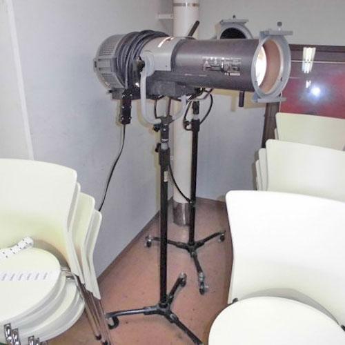 【中古】スポットライト 松村電機 MP-6L 幅300×奥行630×高さ1450 【送料別途見積】【業務用】