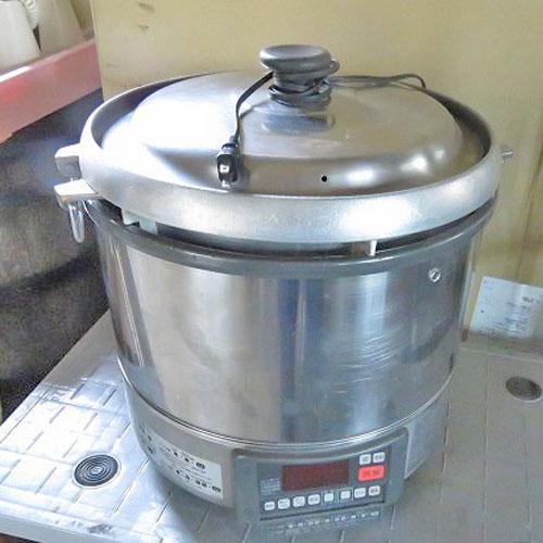 【中古】ガス炊飯器 リンナイ RR-30G1 幅470×奥行420×高さ470 LPG(プロパンガス)【送料無料】【業務用】【厨房機器】