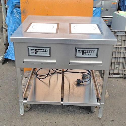 【中古】電磁調理器 三洋電機 TIC-DK2000 幅800×奥行750×高さ800 【送料別途見積】【業務用】