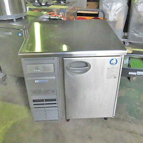 【中古】冷蔵コールドテーブル 福島工業(フクシマ) YRW-080RM 幅750×奥行750×高さ800 【送料無料】【業務用】