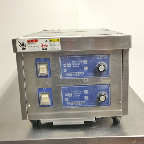 【中古】《大幅値下》電気調理器 ニチワ電機 MIR-2.5WTSP 幅350×奥行750×高さ300 【送料無料】【業務用】