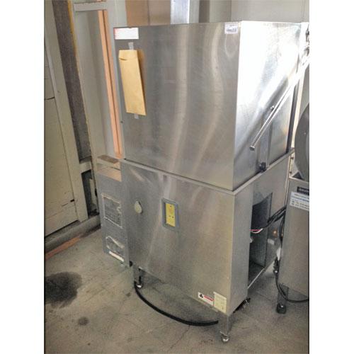 【中古】食器洗浄機 ブースター付き ドアタイプ 横河電子機器 E5-G26 幅950×奥行740×高さ1410 都市ガス【業務用】【送料別途見積】