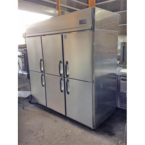 【中古】縦型冷凍冷蔵庫 ダイワ 603S2-EC 幅1800×奥行800×高さ1900 【送料無料】【業務用】【厨房機器】