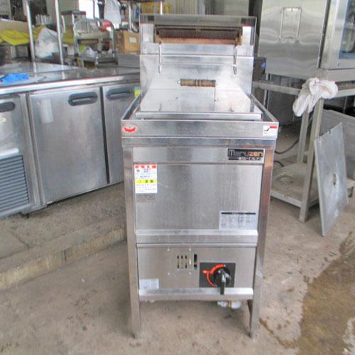 【中古】ゆで麺機 マルゼン MGU-046PG 幅450×奥行600×高さ800 都市ガス 【送料別途見積】【業務用】