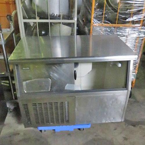 【中古】製氷機 キューブアイスメーカー サンヨー SIM-S88U 幅1000×奥行600×高さ800 三洋電機 SANYO【送料別途見積】【業務用】【厨房機器】