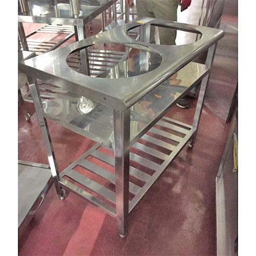【中古】炊飯台 2台用 幅500×奥行900×高さ800 【送料別途見積】【業務用】