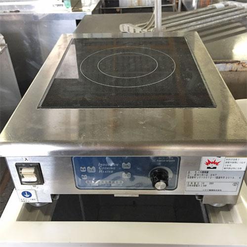【中古】電磁調理器 ニチワ電機 MIR-25NT 幅350×奥行450×高さ150 【送料無料】【業務用】