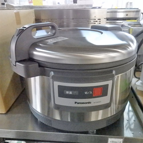【中古】炊飯ジャー パナソニック(Panasonic) SK-PJB3600 幅502×奥行429×高さ344 【送料別途見積】【未使用品】【業務用】【厨房機器】
