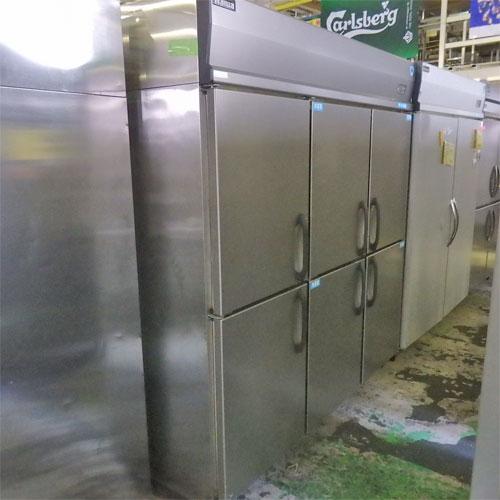 【中古】縦型冷凍冷蔵庫 大和冷機 幅1800×奥行800×高さ1900 三相200V 【送料別途見積】【業務用】【厨房機器】