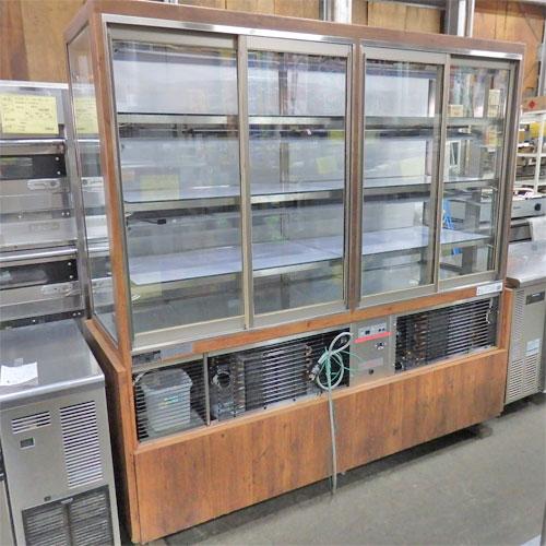 【中古】多目的冷蔵ショーケース 大穂製作所 OHGP-HC-1800 幅1850×奥行600×高さ1800 【送料別途見積】【業務用】【厨房機器】