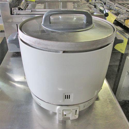 【中古】ガス炊飯器 パロマ PR-403F 幅412×奥行337×高さ367 都市ガス 【送料無料】【業務用】