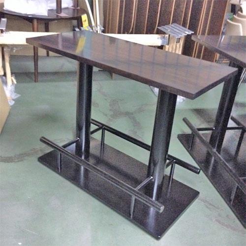 【中古】ハイテーブル 幅1090×奥行500×高さ860 【送料別途見積】【業務用】