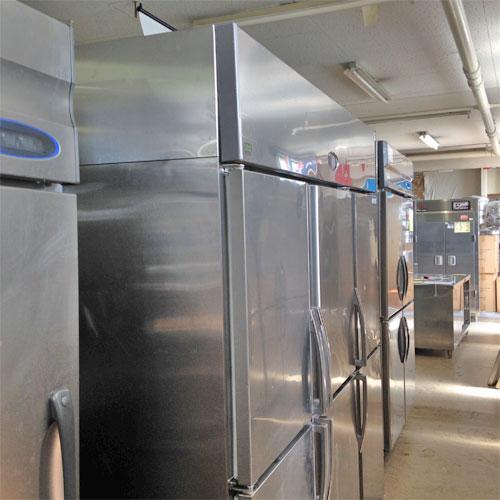 【中古】縦型冷凍冷蔵庫 フジマック FR18890F2J 幅1800×奥行800×高さ1950 【送料無料】【業務用】【厨房機器】