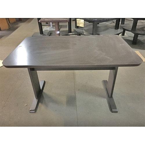 【中古】テーブルDB 4人用 幅1200×奥行750×高さ700 【送料無料】【業務用】