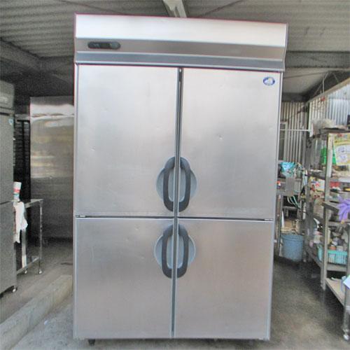 【中古】縦型冷蔵庫 サンヨー SRR-G1281S 幅1200×奥行800×高さ1950 【送料別途見積】【業務用】【厨房機器】