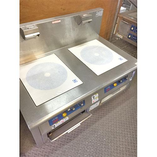 【中古】IH調理器 ニチワ電機 MIR-1055T5SP 幅950×奥行600×高さ355 三相200V 【送料無料】【業務用】