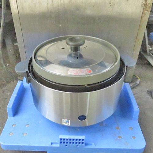 【中古】ガス炊飯器 リンナイ RR-S15SF 幅500×奥行360×高さ310 都市ガス 【送料無料】【業務用】