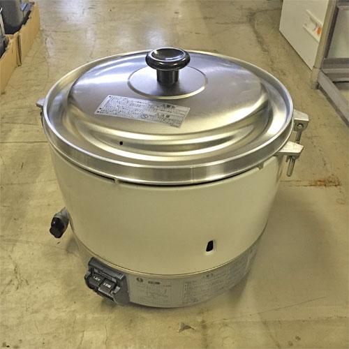 【中古】ガス炊飯器 リンナイ RR-30S1 幅450×奥行421×高さ407 都市ガス 【送料無料】【業務用】【厨房機器】