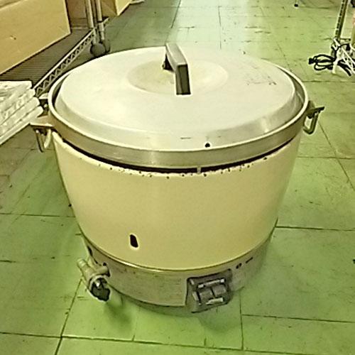【中古】3升ガス炊飯器 リンナイ RR-30S1 幅450×奥行410×高さ420 都市ガス 【送料無料】【業務用】【厨房機器】