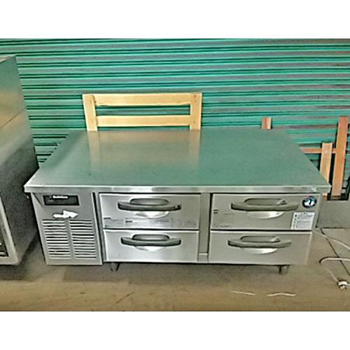 【中古】冷凍ドロワーコールドテーブル ホシザキ RTL-120DDC 幅1200×奥行750×高さ545 【送料無料】【業務用】【厨房機器】