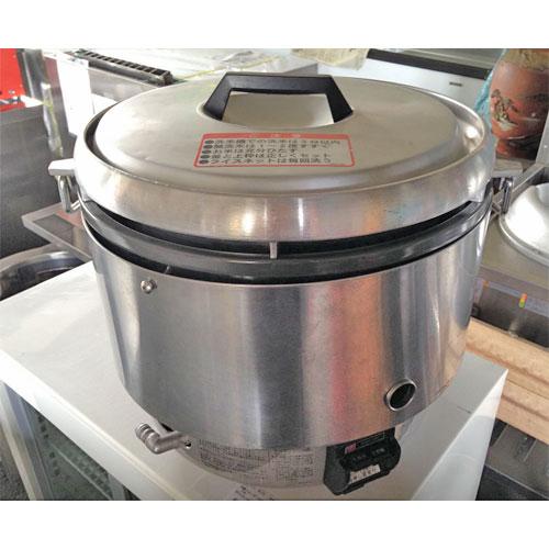 【中古】ガス炊飯器 リンナイ RR-30S2 幅450×奥行440×高さ430 都市ガス 【送料無料】【業務用】【厨房機器】