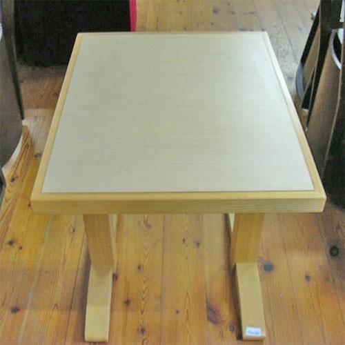 【中古】和テーブル 幅600×奥行750×高さ700 【送料無料】【業務用】