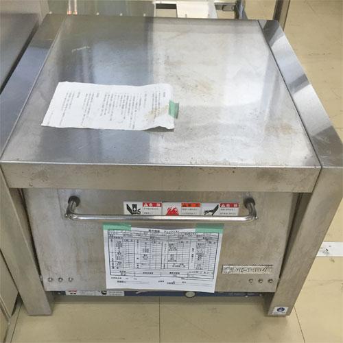 【中古】ピザオーブン ニチワ電機 NPO-3N 幅560×奥行585×高さ425 三相200V 【送料別途見積】【業務用】【厨房機器】