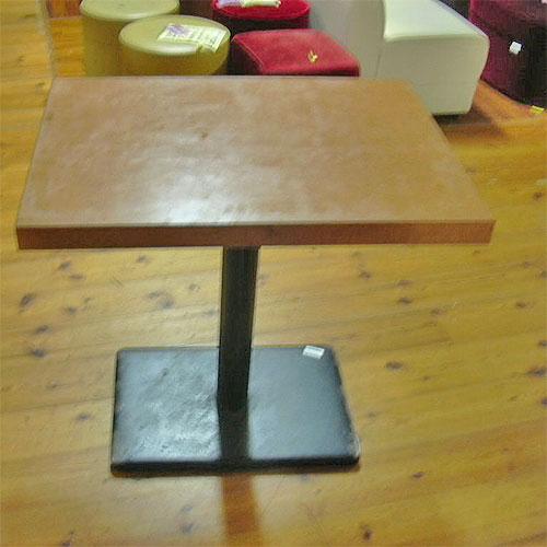 【中古】洋テーブル 幅550×奥行750×高さ700 【送料無料】【業務用】