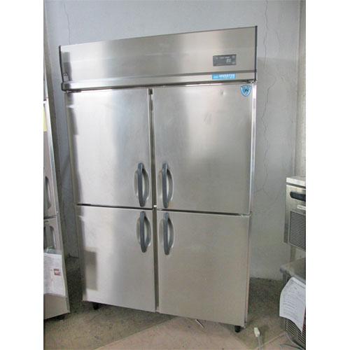 【中古】縦型冷蔵庫 大和冷機 403CD-EC 幅1200×奥行800×高さ1900 三相200V 【送料無料】【業務用】【厨房機器】