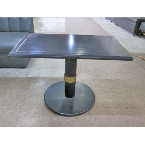 【中古】ボックス用テーブル黒 幅800×奥行450×高さ550 【送料無料】【業務用】