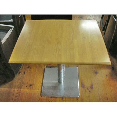 【中古】テーブル 幅600×奥行750×高さ700 【送料無料】【業務用】