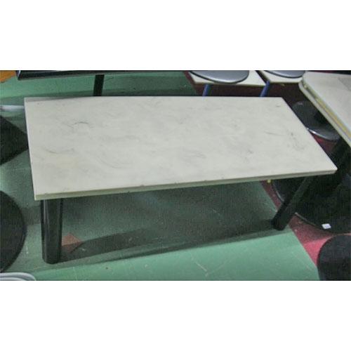 【中古】テーブル 幅1200×奥行500×高さ450 【送料無料】【業務用】