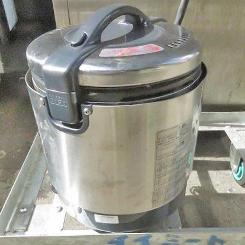 【中古】《大幅値下》ガス炊飯器 リンナイ RR-S100VL 幅309×奥行286×高さ359 都市ガス 【送料無料】【業務用】
