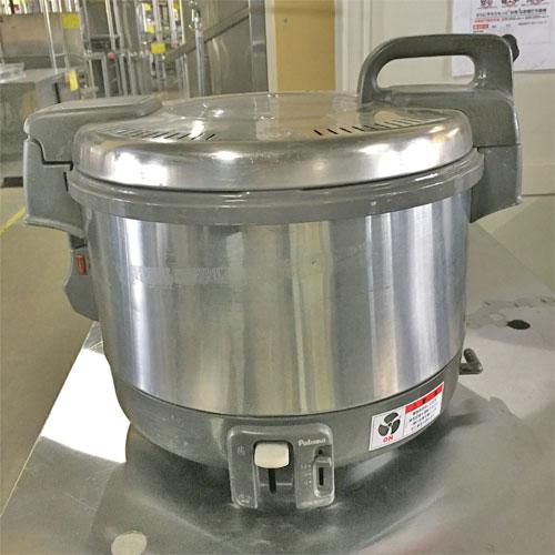 【中古】ガス炊飯器 1.5升炊き パロマ PR-3100S 幅438×奥行348×高さ360 LPG(プロパンガス) 【送料別途見積】【業務用】
